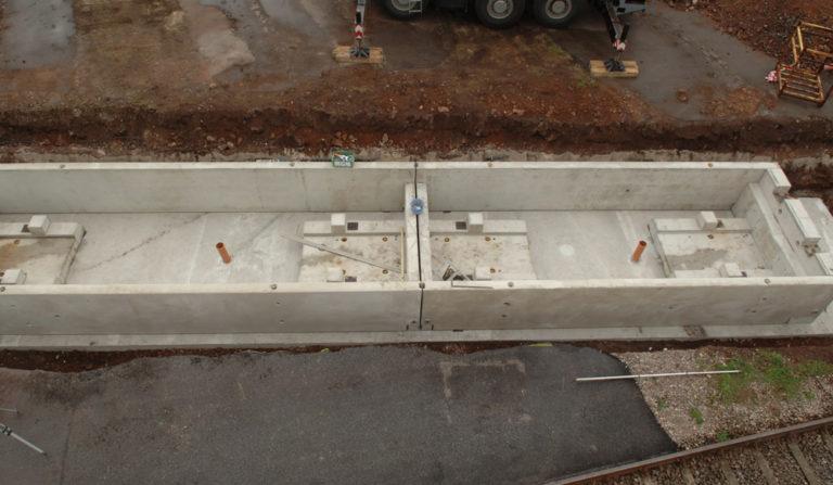 Flintab-02-Gleiswaage-Beton-Ferigteil-Beton-Fundamentrahmen