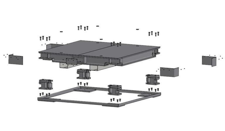 Flintab-Sonderwaage-Schwerlastwaage-Konstruktion