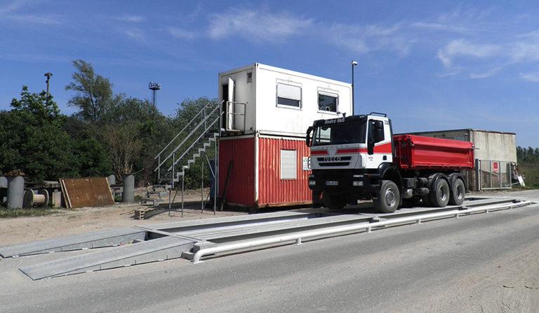 Stahl Fahrzeugwaage MOBIL