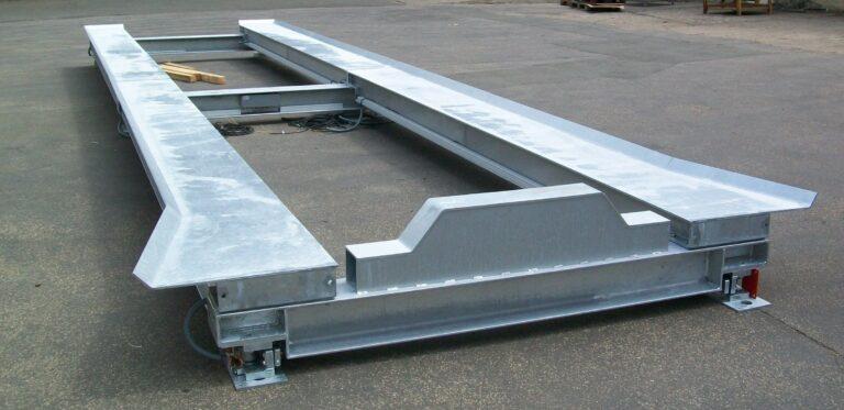 Containerwaage für Abrollcontainer